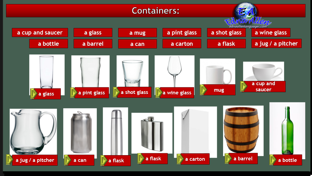 containers answers