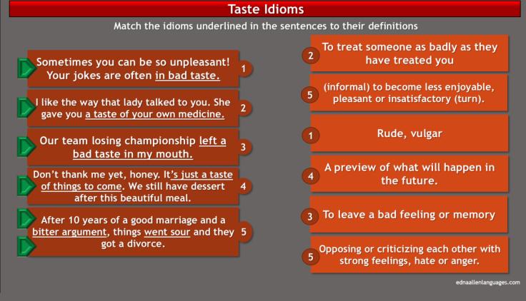 taste idioms2